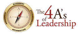 The 4 A's of Leadership Logo