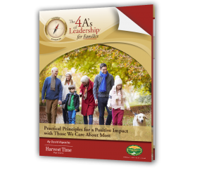 The 4 A's of Leadership for Families