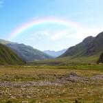Mountain landscape. Caucasus. Georgia