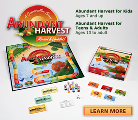 Abundant Harvest Conversation Starters Board Games