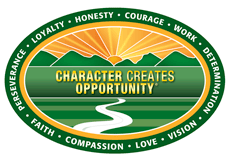 Character Creates Opportunity Logo