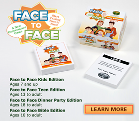 Face to Face Conversation Starters Card Game