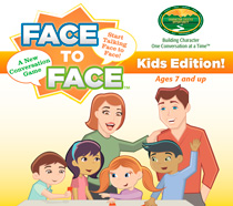 Kids Conversation Starters Face to Face Logo