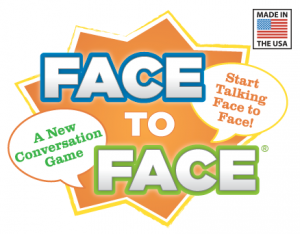 Face to Face Conversation Card Game Logo
