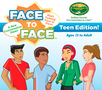 Teen Conversation Starters Face to Face Box Top