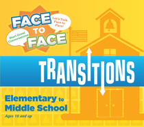 Face to Face Transitions Elementary to Middle School Conversation Game