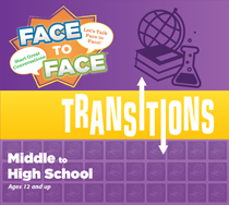 Face to Face Transitions Middle to High School Conversation Game