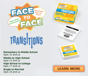 Face to Face Transitions Conversation Games